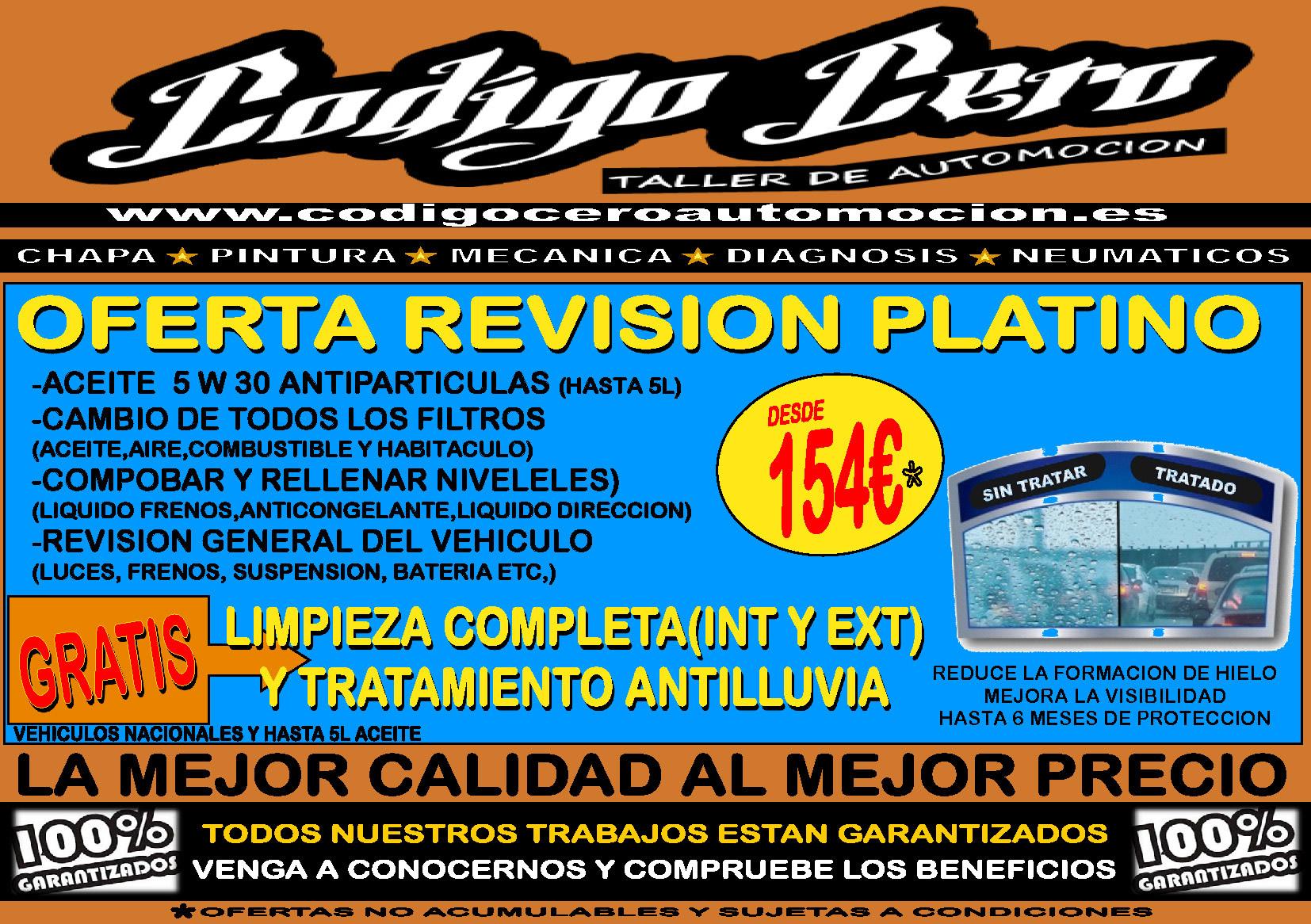 Revisión Platino 5w30