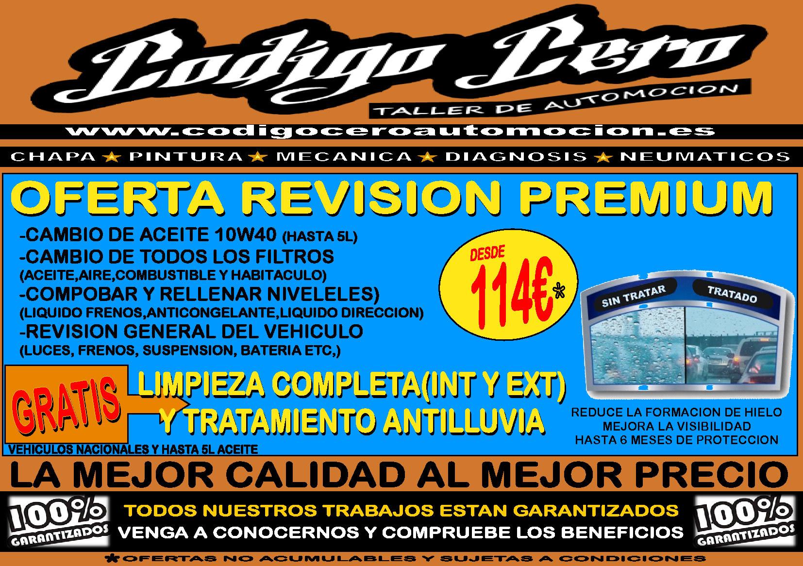 Revisión Premium 10w40